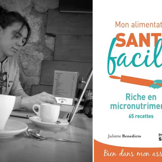 livre nutriments santé facile Juliette Benedicto
