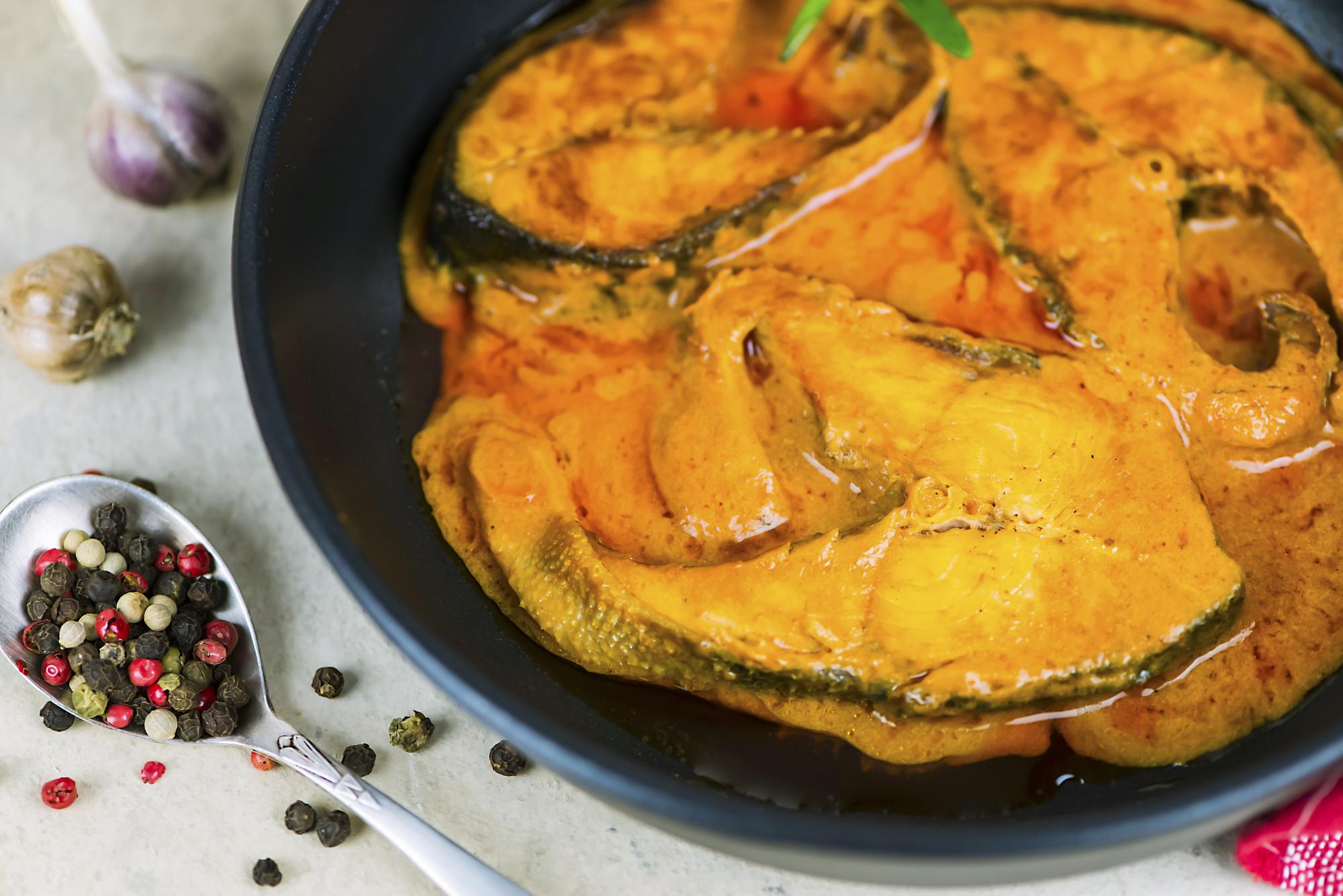 Ragoût de saumon