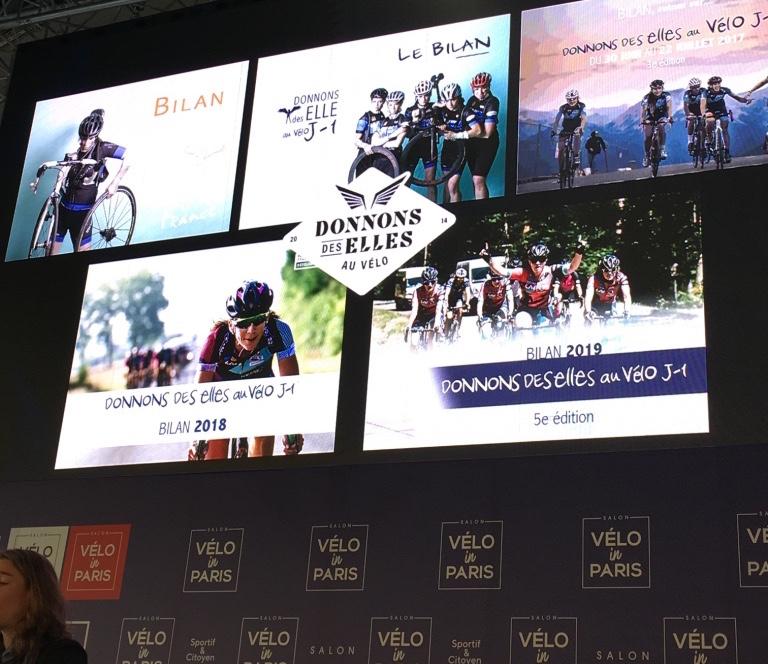 film documentaire cyclisme féminin donnons des elles au vélo