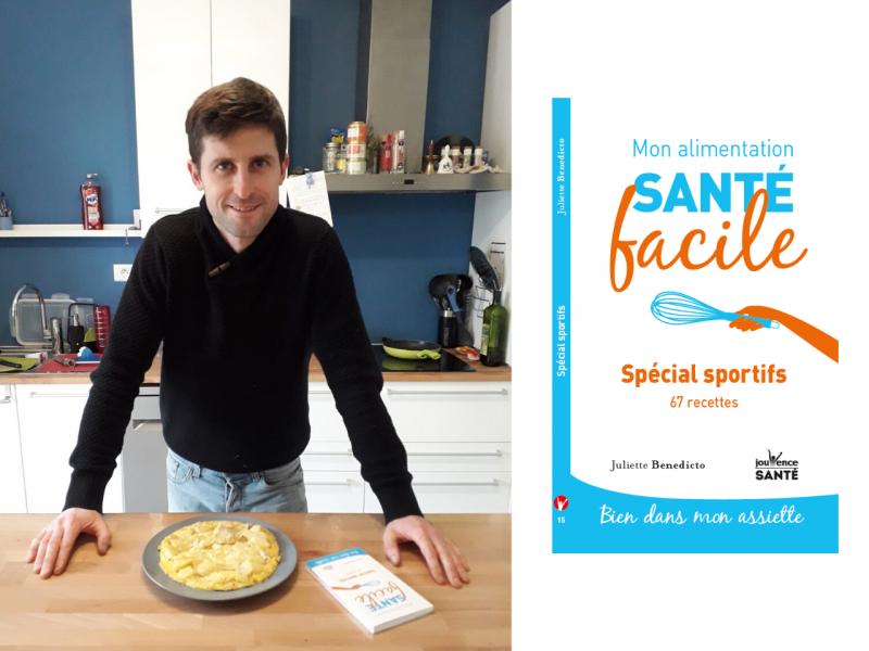 recette d'omelette aux pommes de Juliette réalisée par David Bassot