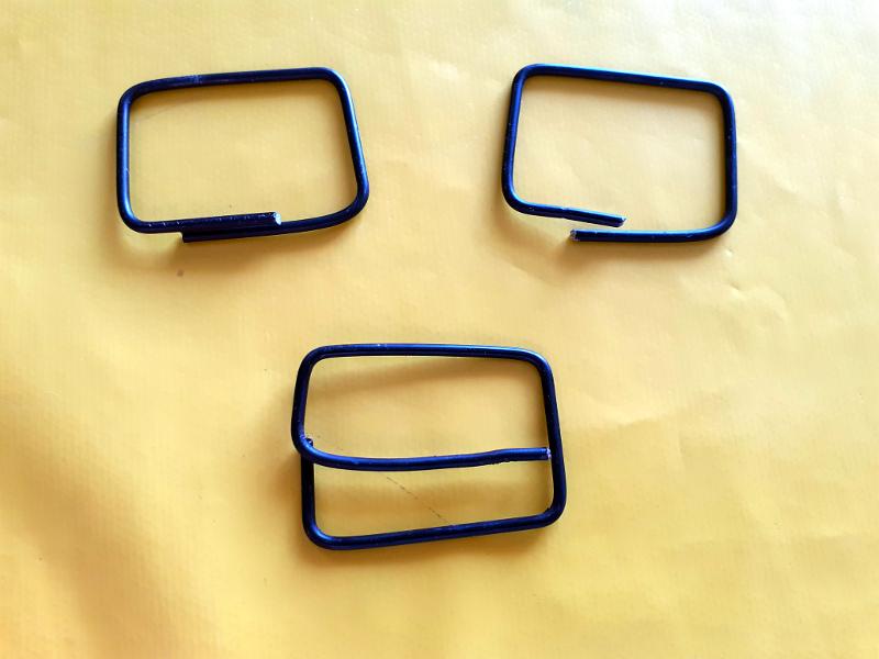 les 3 boucles de la ceinture en chambre à aire vélo