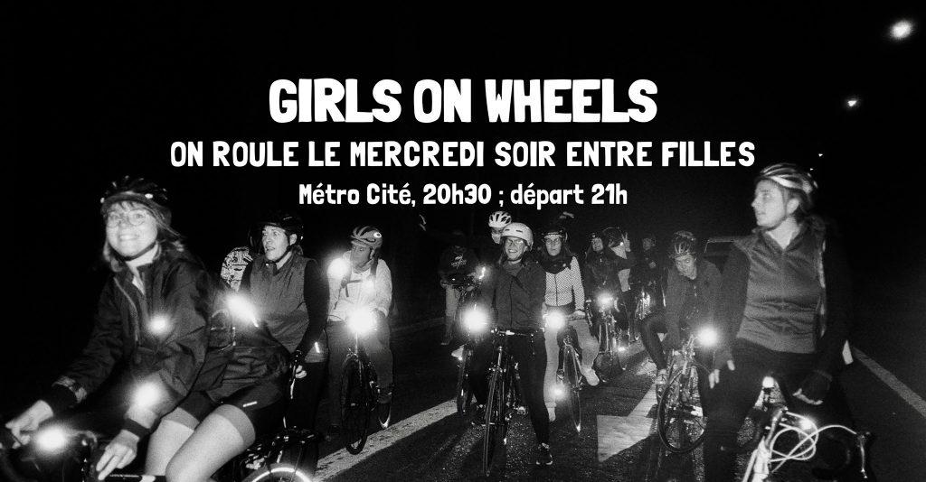 Groupe cycliste féminin paris