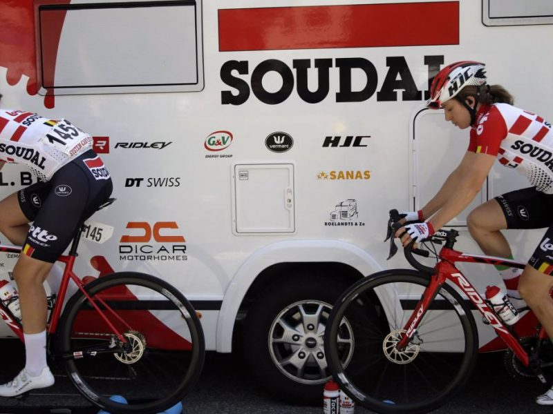 Développement du cyclisme féminin. Vive Lotto Soudal