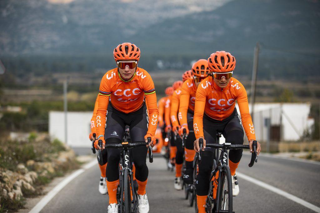 parité pour les femmes dans le sport, la campagne de liv cycling