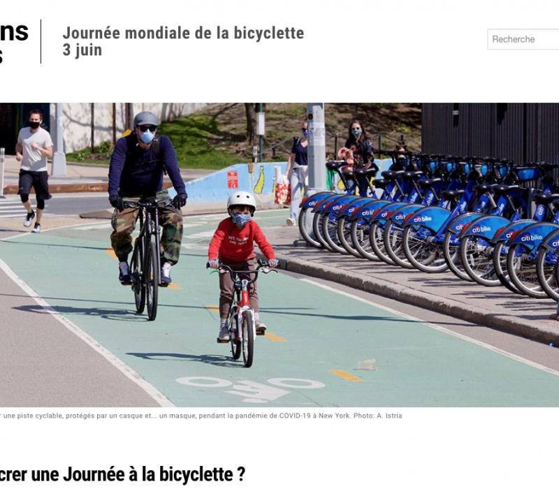 Journée mondiale de la bicyclette