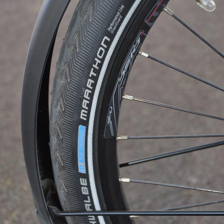 pneu vélo type facteur Oklö Postal