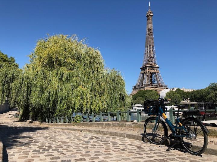 Paris vélo type facteur Oklö Postal