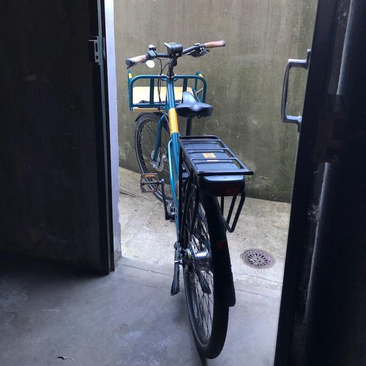 vélo type facteur Oklö Postal