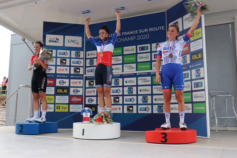Audrey Cordon-Ragot championne de France