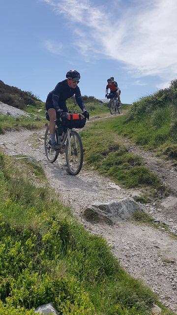 Gravel Tro Breizh descente gravel