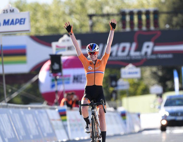 Anna Van Der Breggen arrivée championne