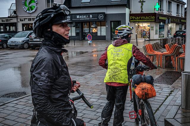 Gravel Tro Breizh pluie bretagne vélo