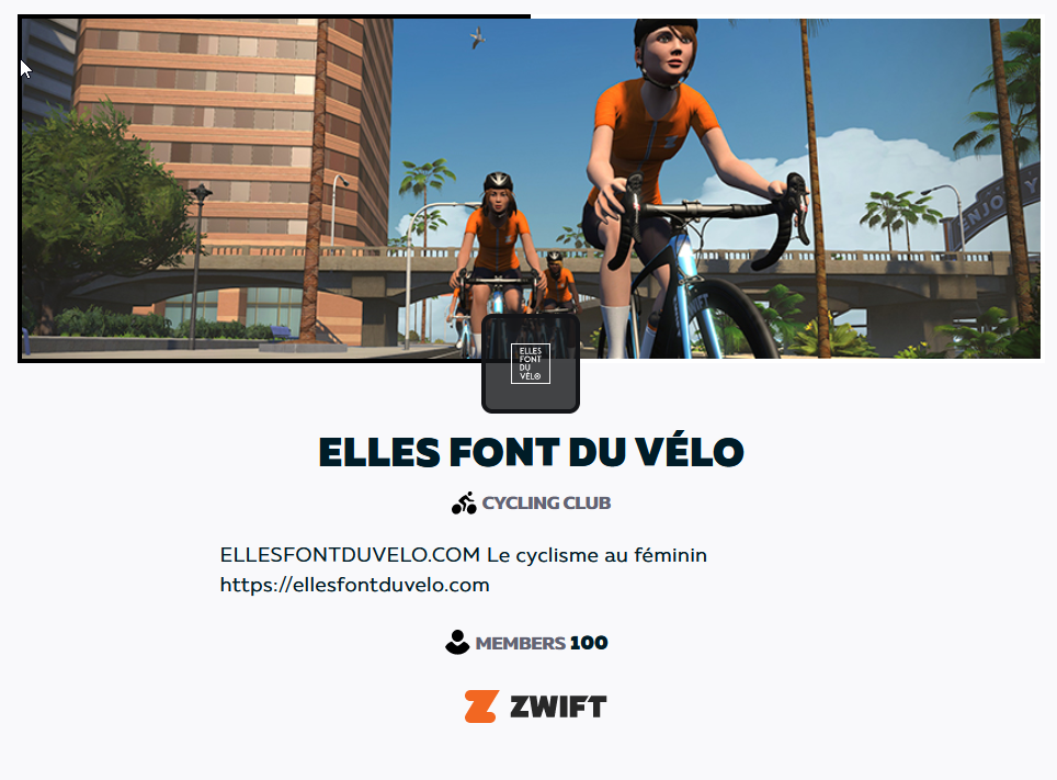 Club Zwift officiel