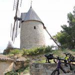 Moulin fournil boulangerie de Cucugnan à vélo