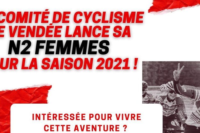 La Vendée lance son équipe cycliste féminine