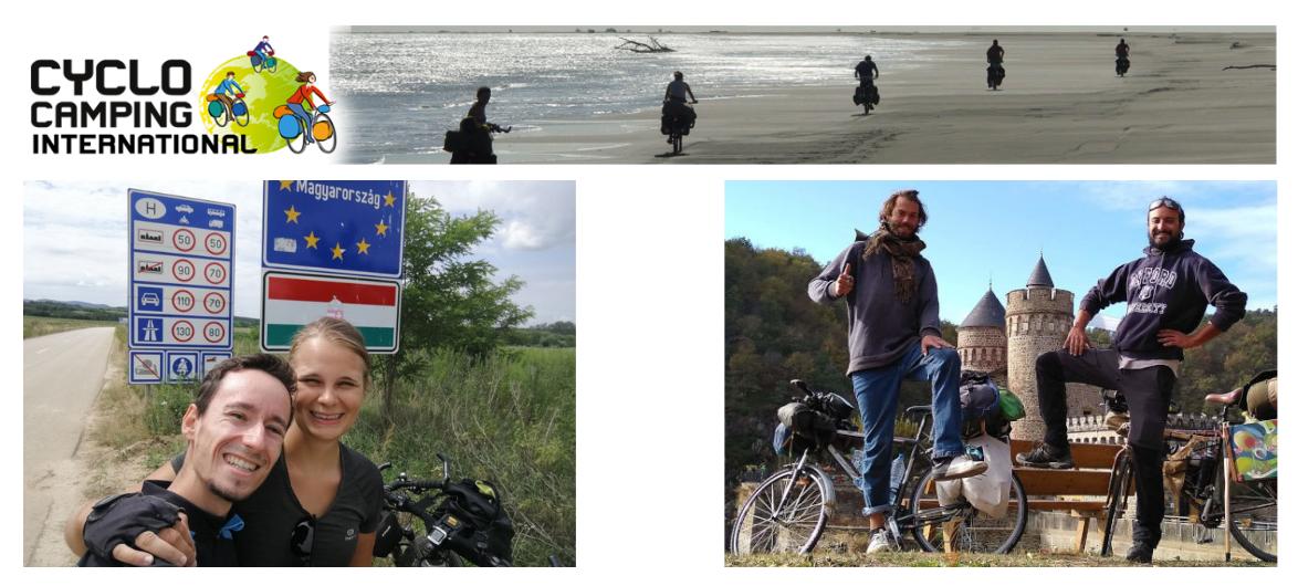 bourses cyclistes voyages à velo cci
