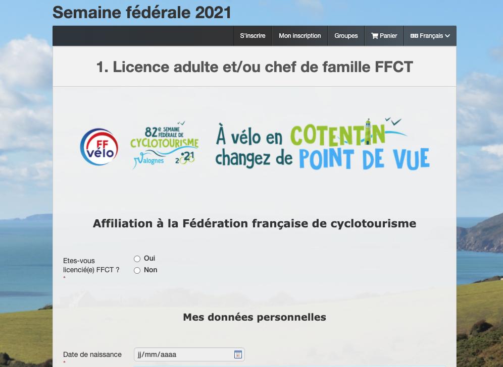semaine federale federation française de cyclotourisme 2021