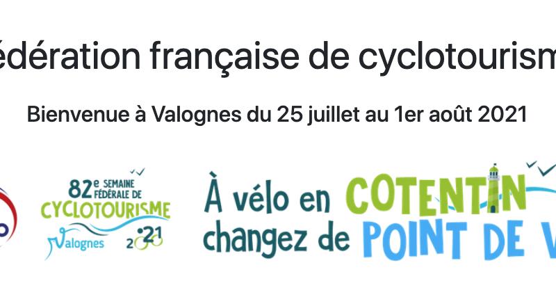 Semaine fédérale de la fédération française de cyclotourisme 2021
