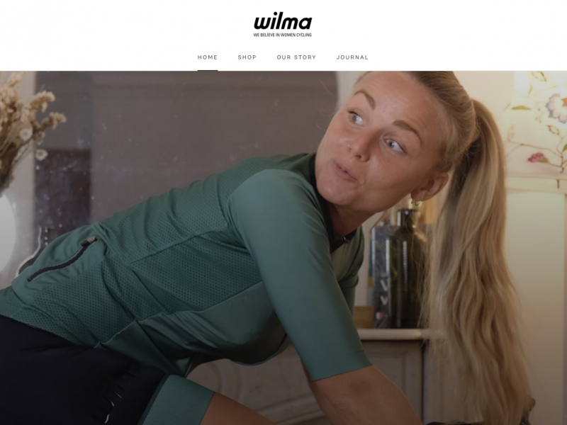 Wilma, marque française pour femmes cyclistes