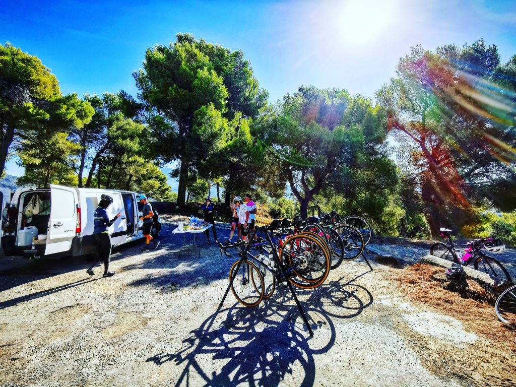 logistique stage cycliste EFDV