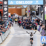 peloton féminin omloop