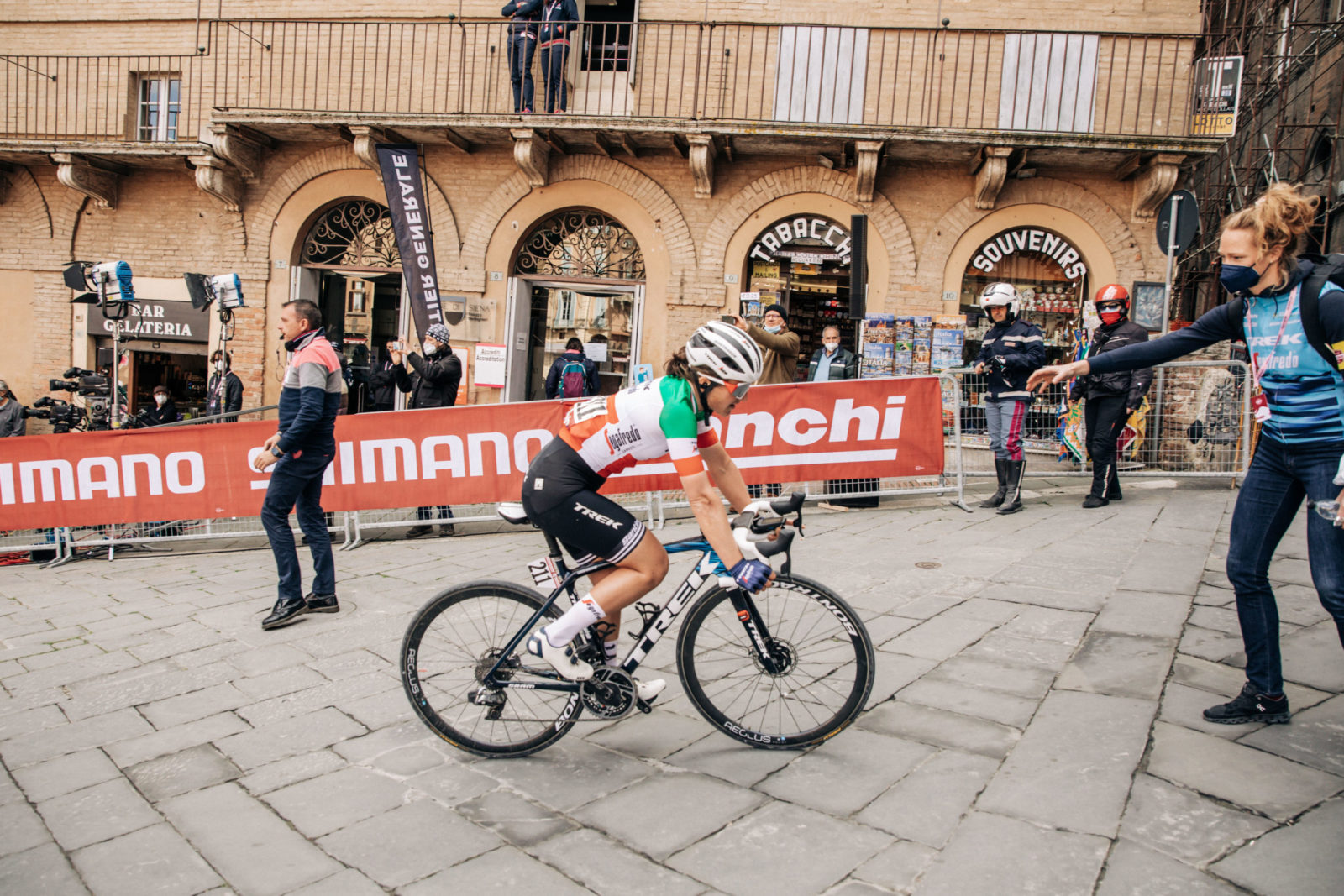 Elisa Longo Borghini 2021 Strade bianche