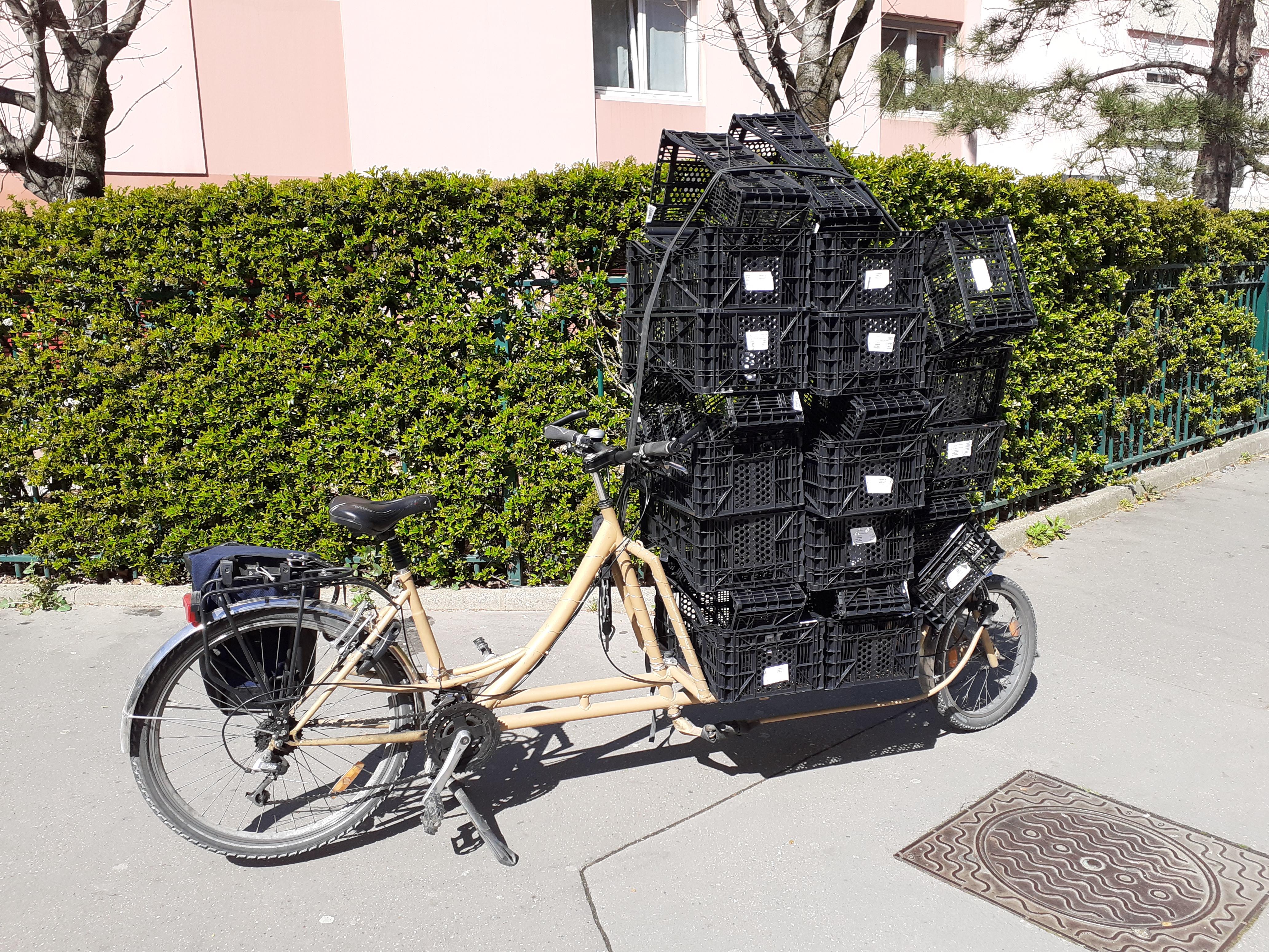 chasse aux trésors à vélo cube