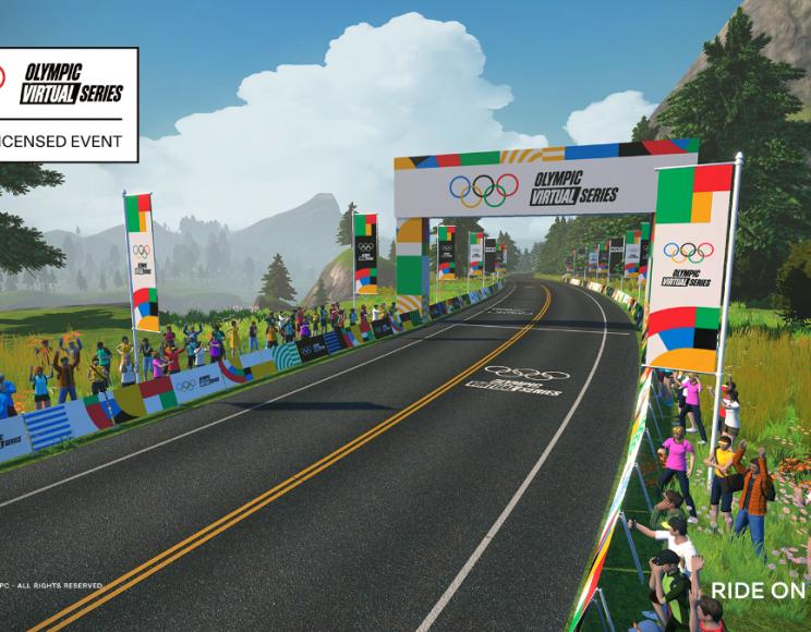 Zwift cyclisme virtuel