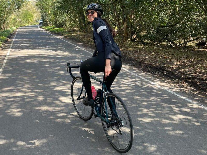 portrait cycliste de Mélanie