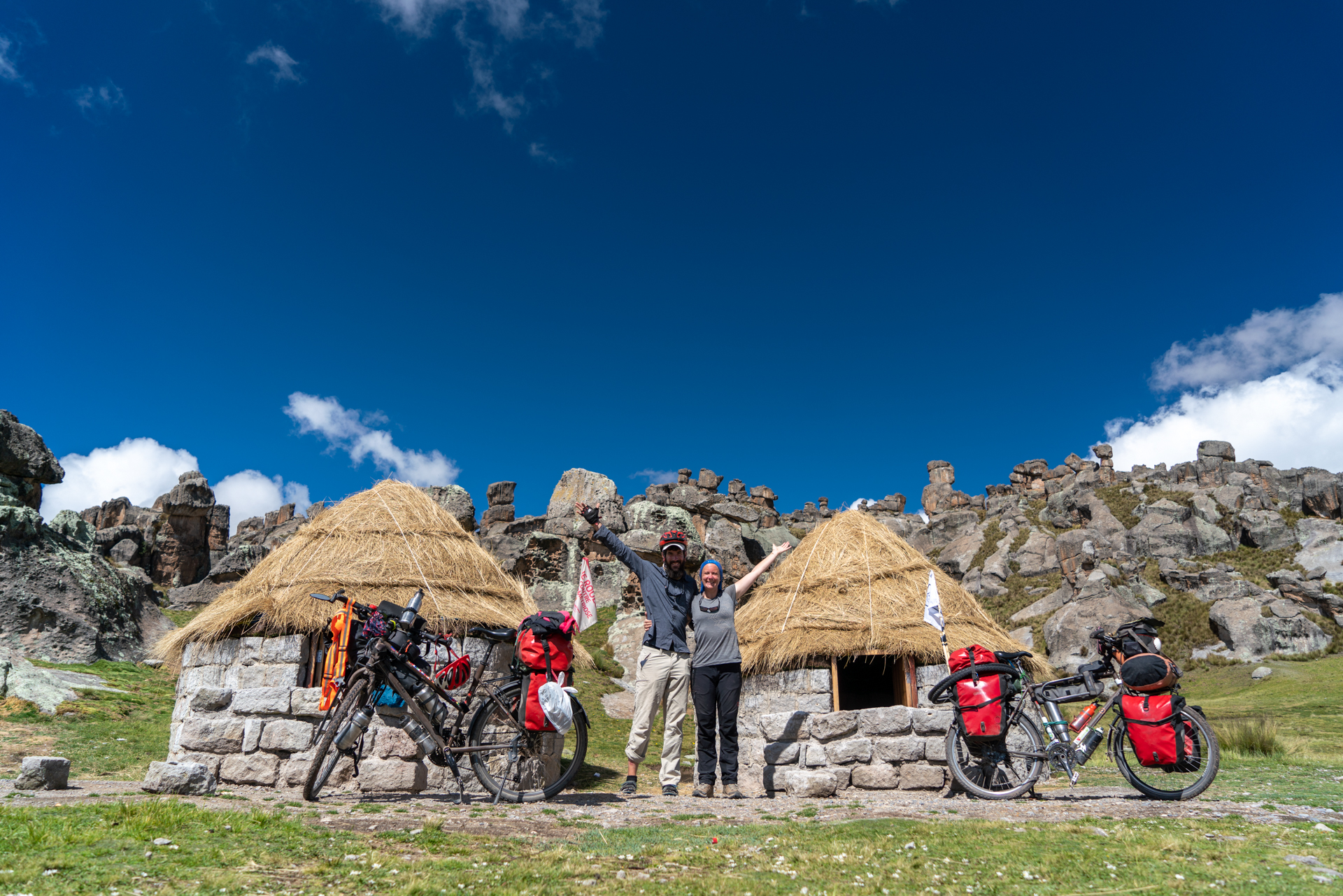 portrait de la cycliste Alice au Pérou