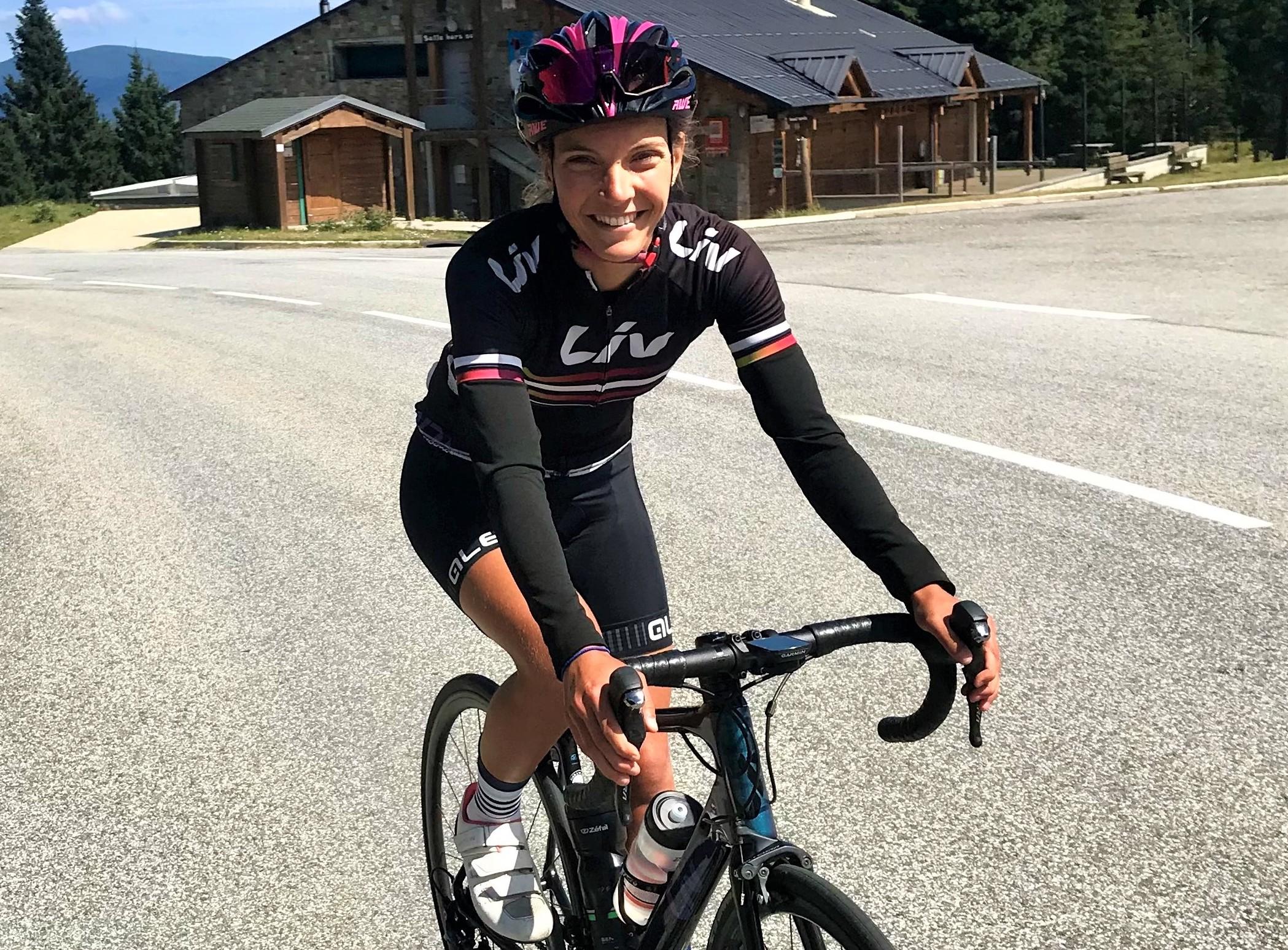 portrait cycliste Léa LIV