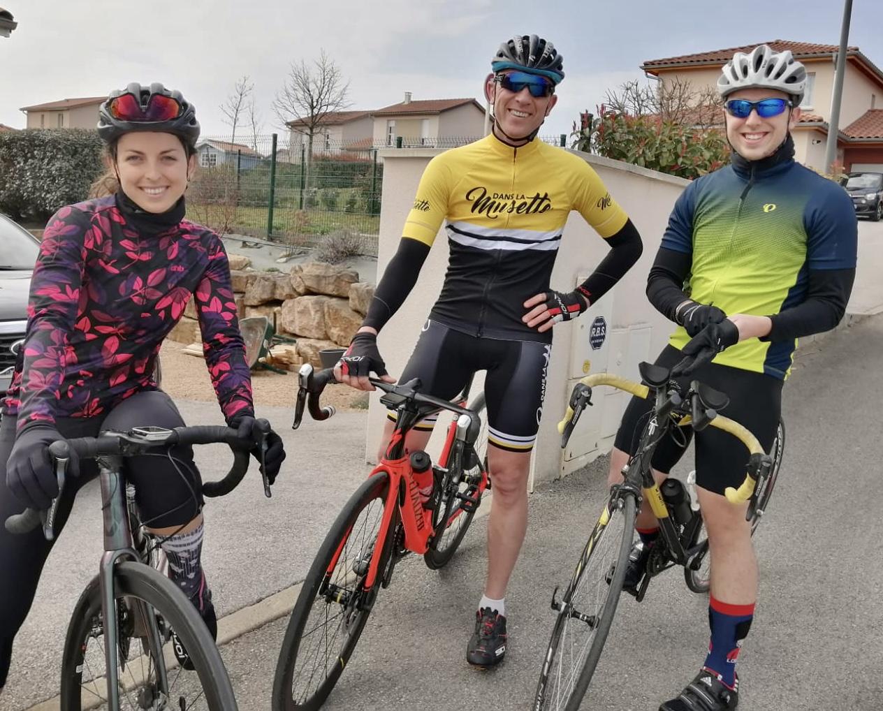 portrait cycliste de Solenne