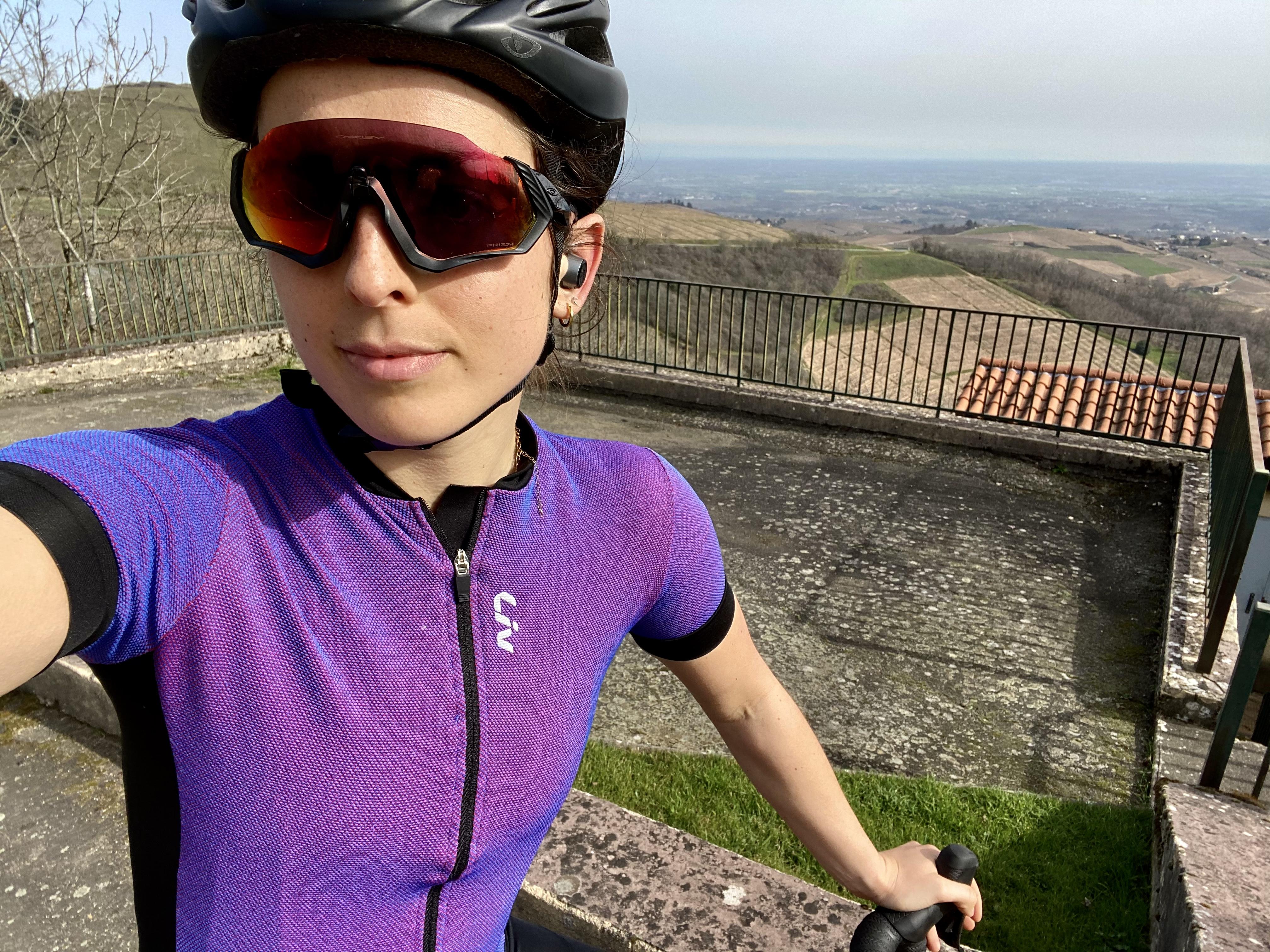 portrait cycliste Solenne Liv vertical