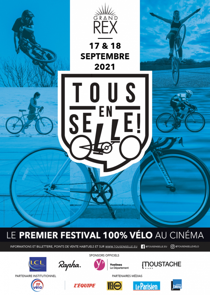 Tous en selle festival vélo 2021 Paris