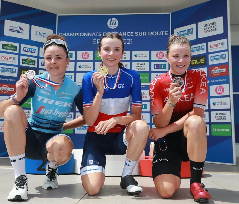 La confirmation pour l'une, l'avènement pour l'autre: Audrey Cordon-Ragot et Evita Muzic sont nos nouvelles championnes de France.