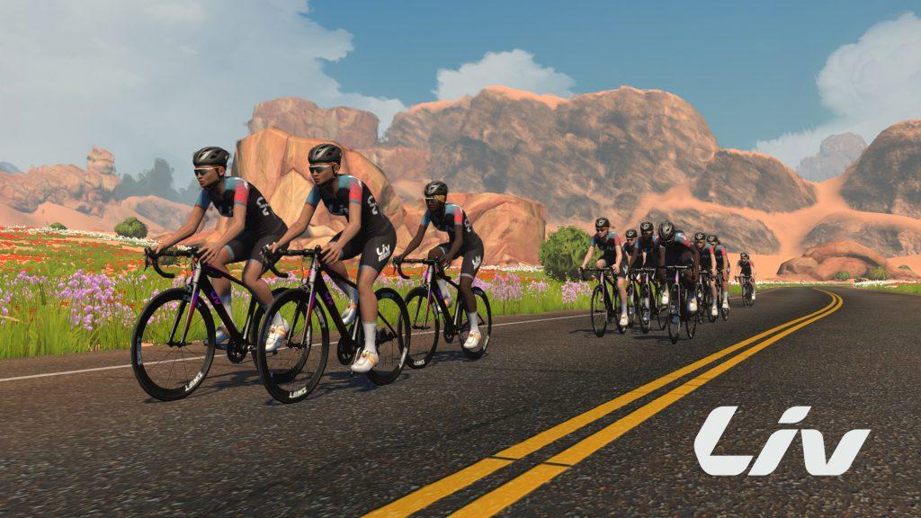 Liv Cycling France - Zwift