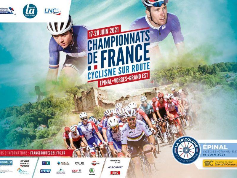 Le championnat de France de cyclisme 2021