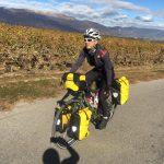 voyage à vélo avec Fleur Skrivan & Alain