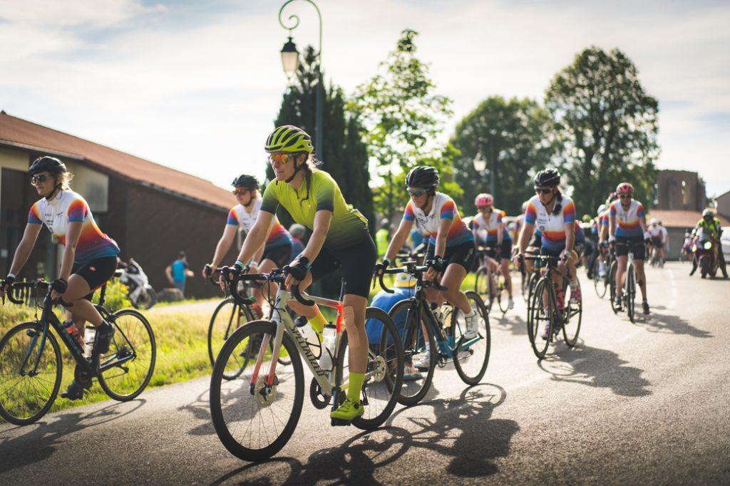 Tour de la Loire féminin démarrage