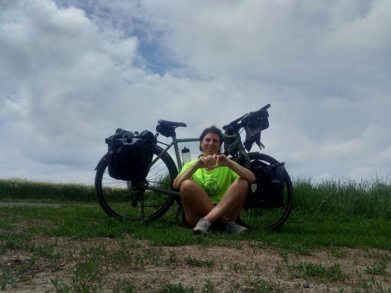 portrait cycliste de Delphine