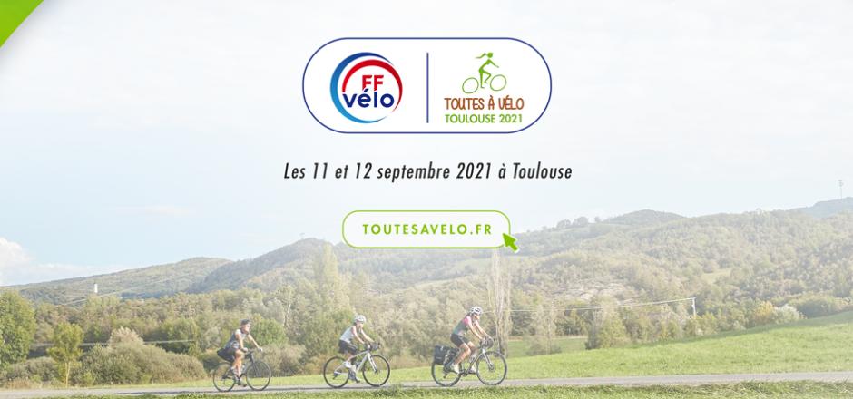 Toutes à vélo à Toulouse 2021
