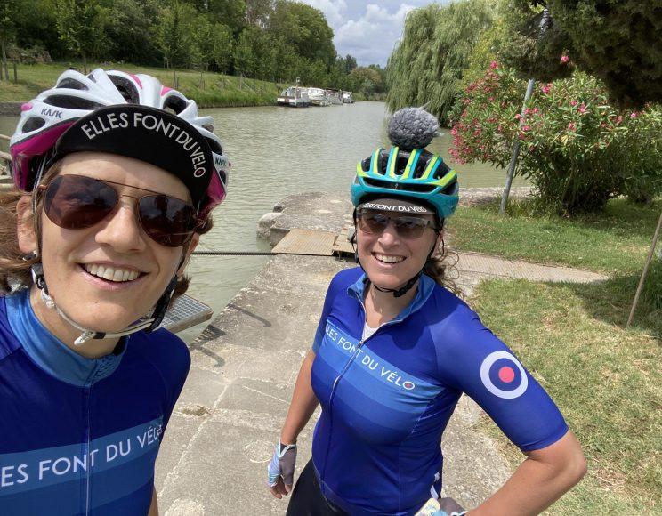 De carcassonne à toulouse à vélo