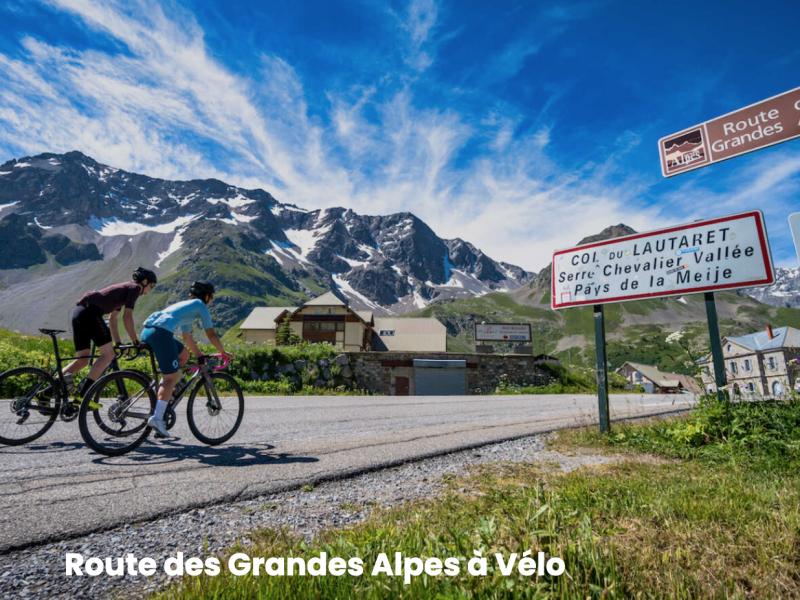 Route des grandes alpes à vélo