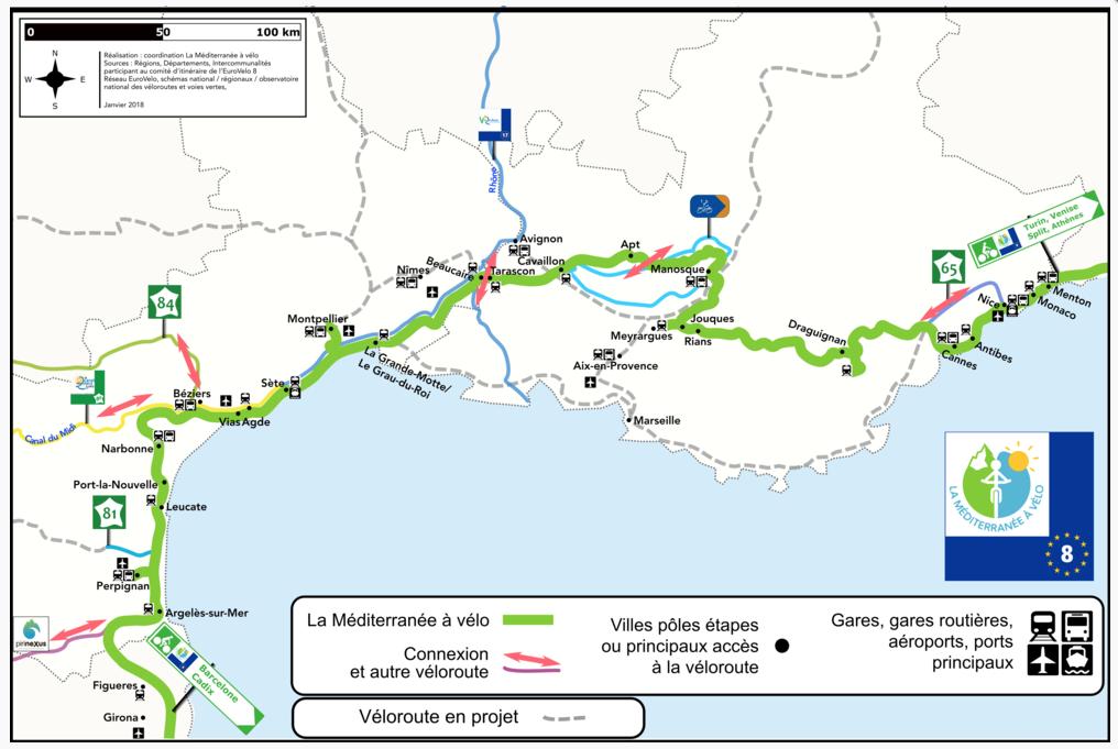 méditerranée à vélo corbières à vélo