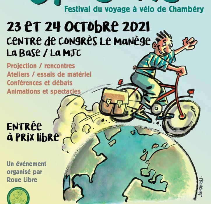 Festival du voyage à vélo Vél'osons